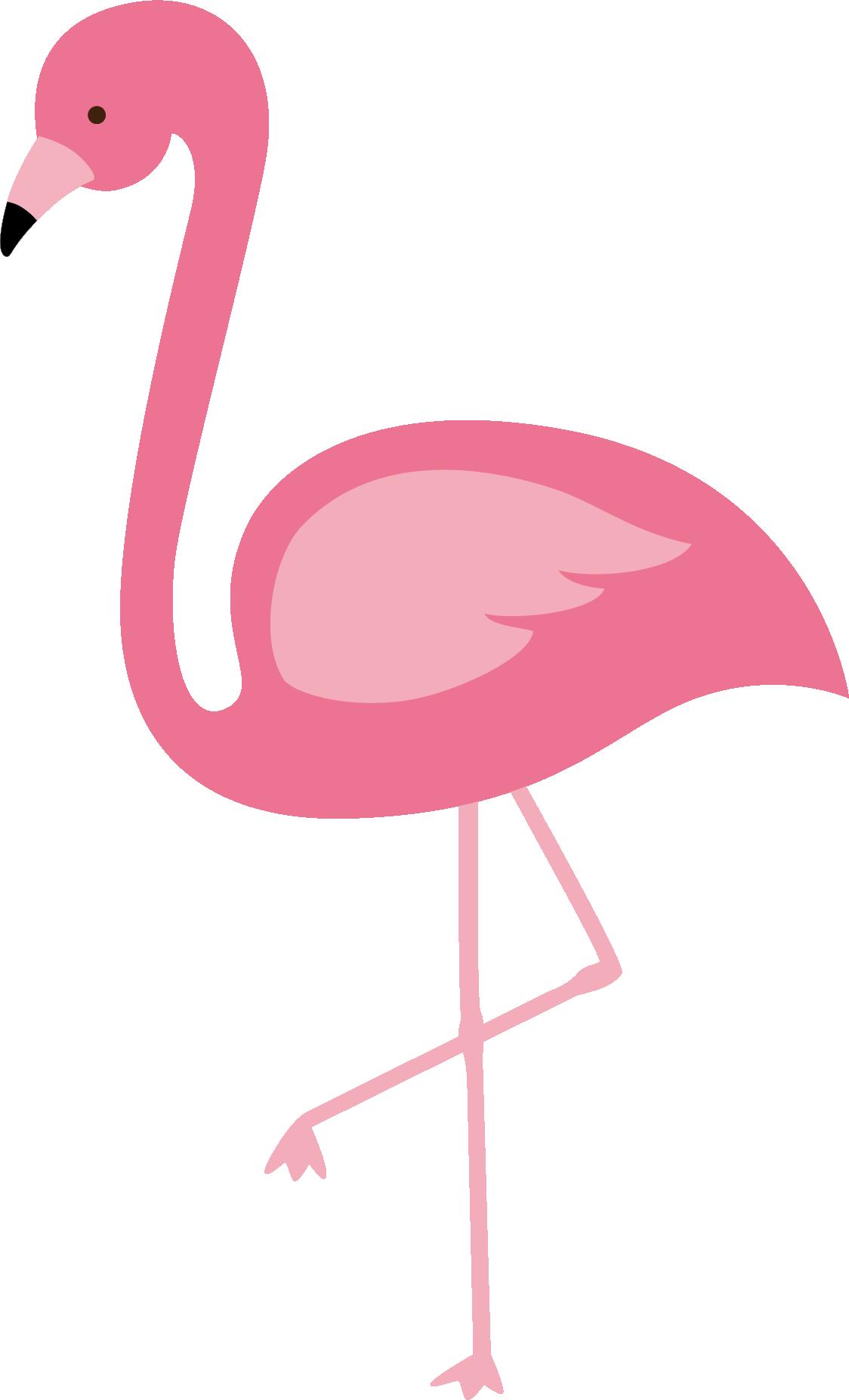 Pineapple clipart flamingo. Cartoon group flamingos bird