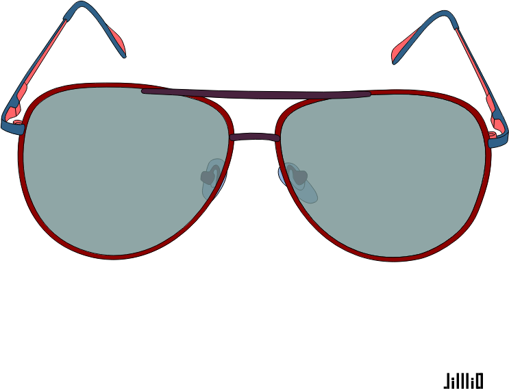 Color frame sunglasses transparentpng. Eyeglasses clipart glares
