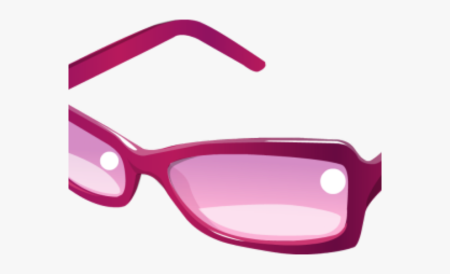 Plastic free cliparts . Sunglasses clipart girly