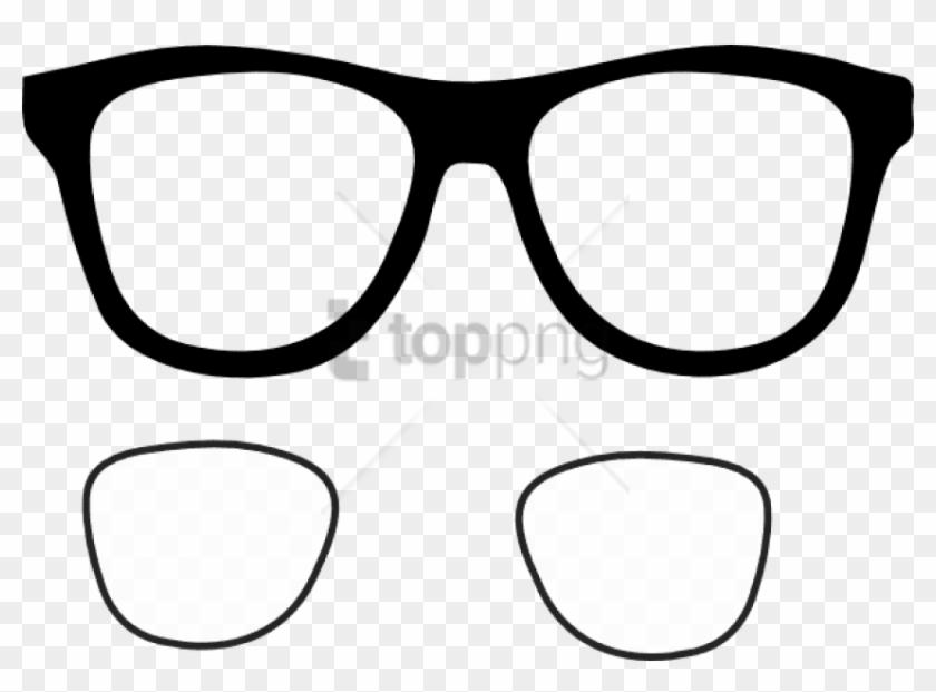 Clipart sunglasses glass frame. Free png glasses frames