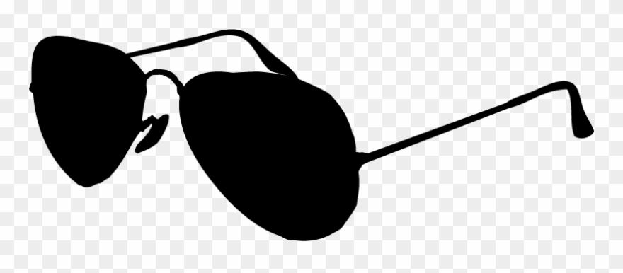 Sunglasses clipart glass ray ban. Black and white clip