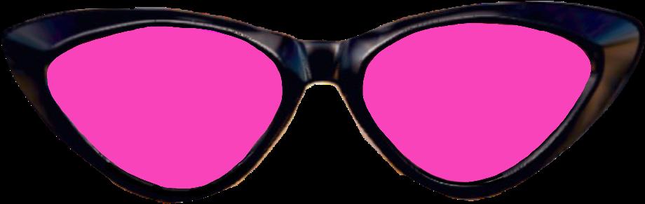 Clipart sunglasses glass tumblr. Pink glasses sun cat