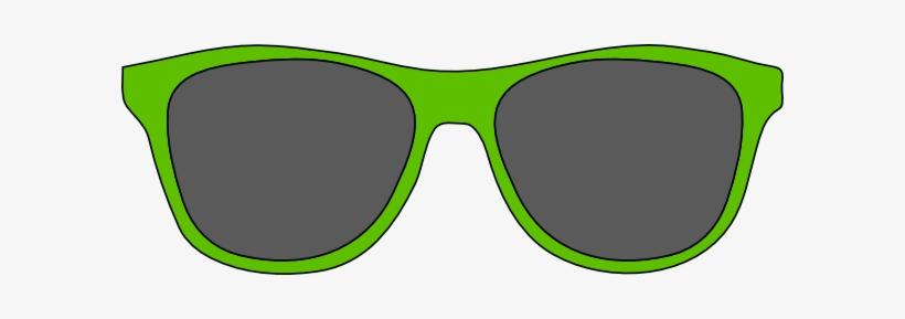 Clip art free . Sunglasses clipart green