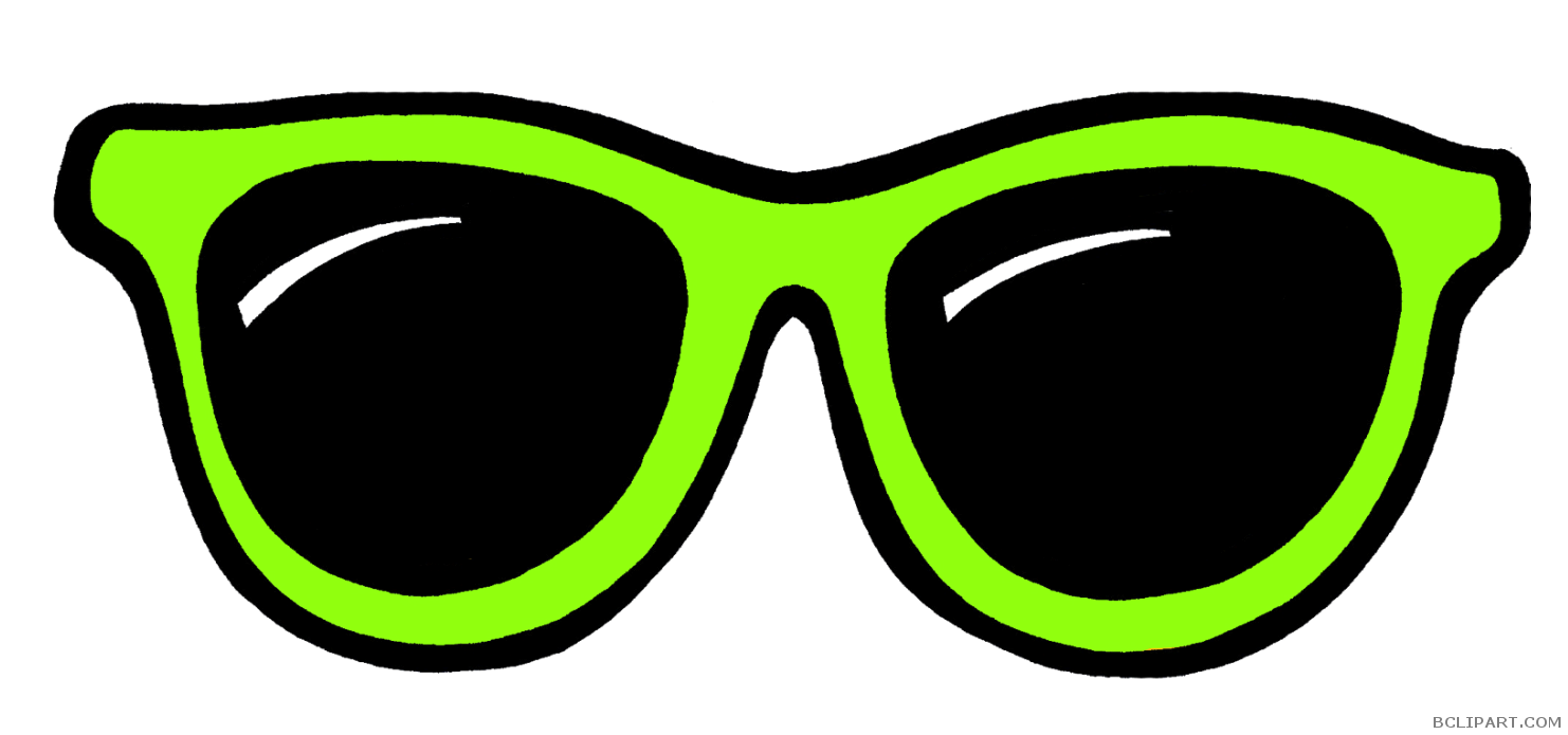 Bclipart tools free images. Sunglasses clipart green