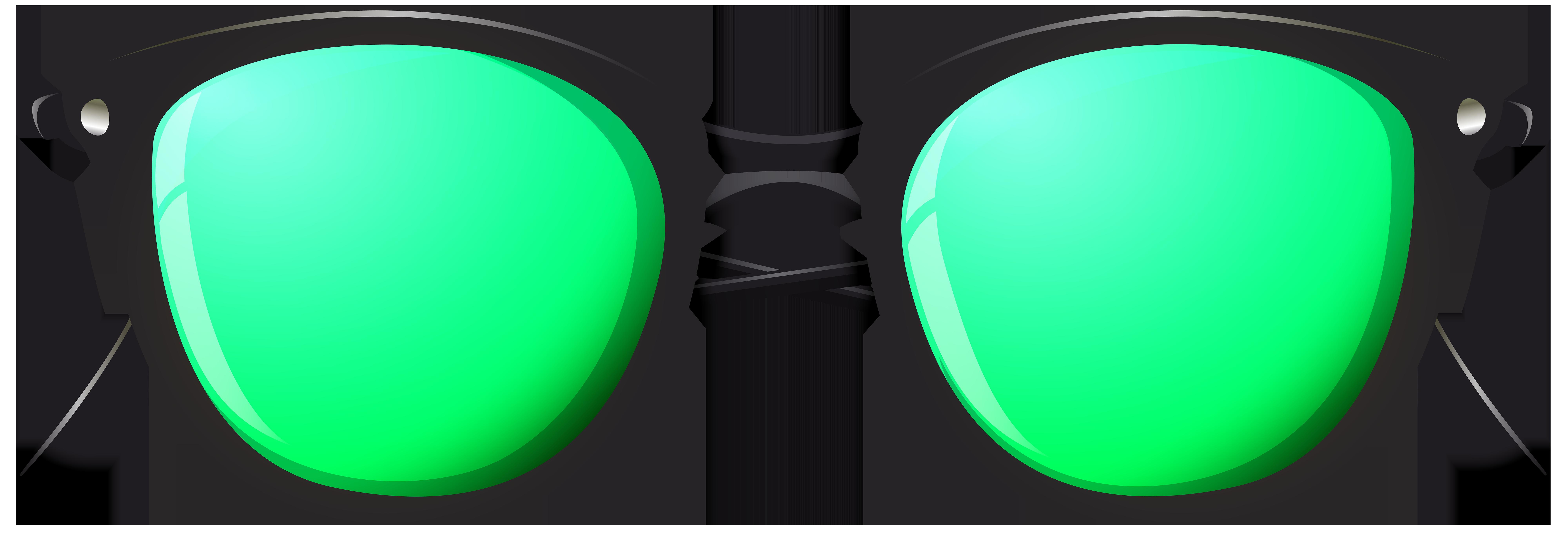 Png clip art image. Sunglasses clipart green