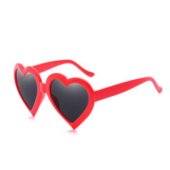 Red women oversized candy. Clipart sunglasses heart shaped sunglasses