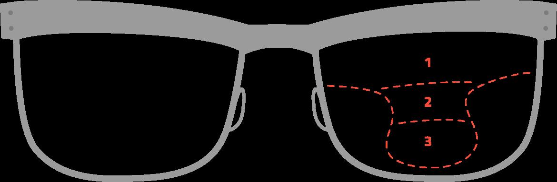 Lenses specs eyewear progressive. Vision clipart bifocal glass