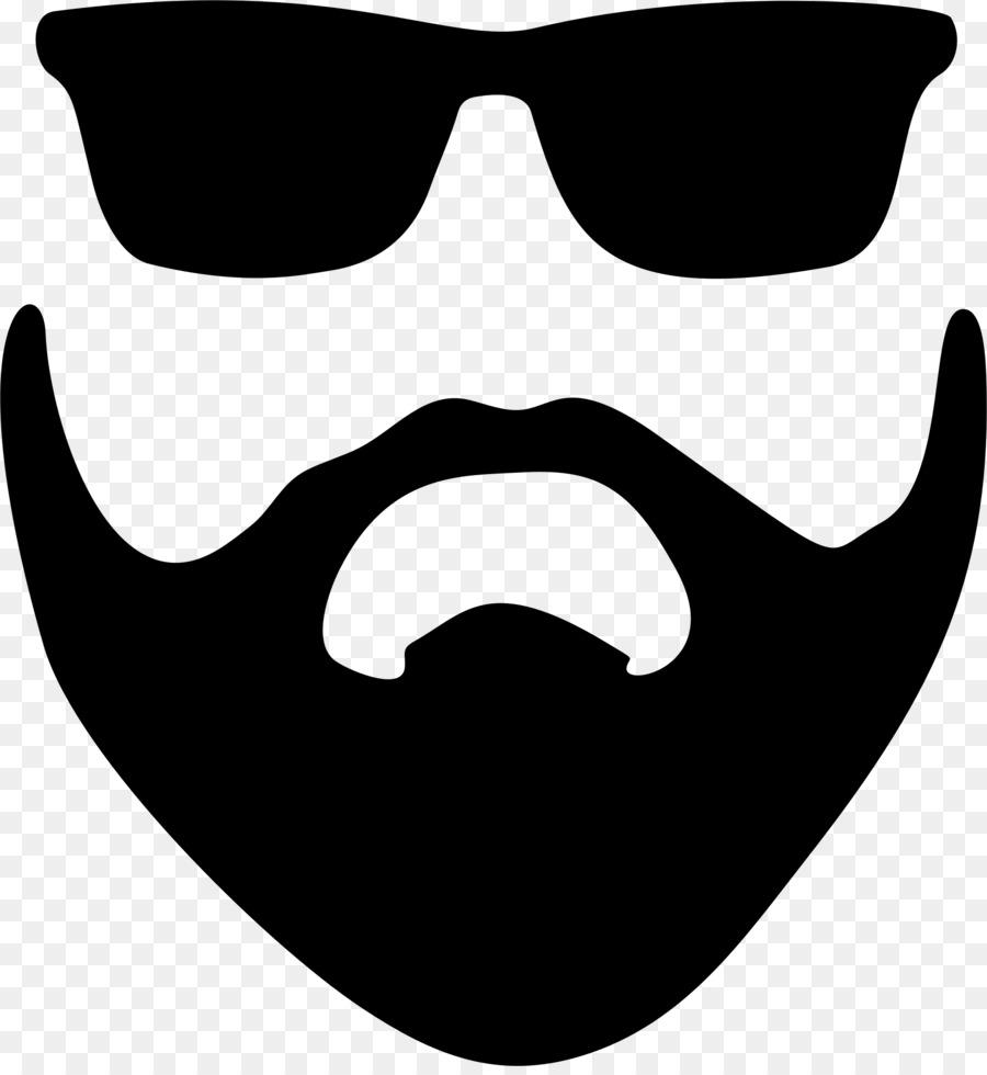 Moustache clipart sunglasses. Cartoon beard
