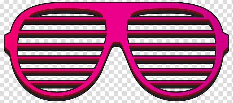 Glow glasses transparent background. Clipart sunglasses neon