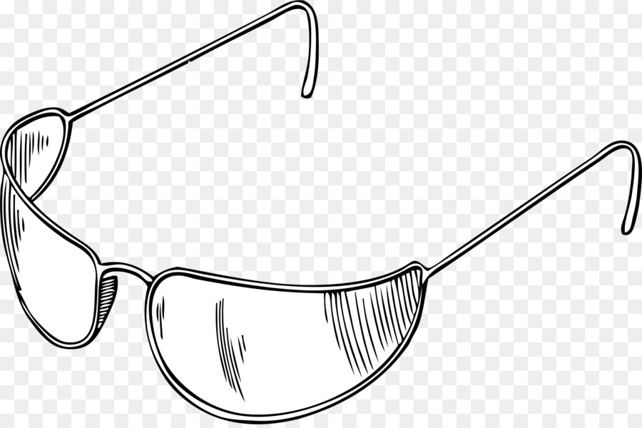Clipart sunglasses outline. Drawing rectangle