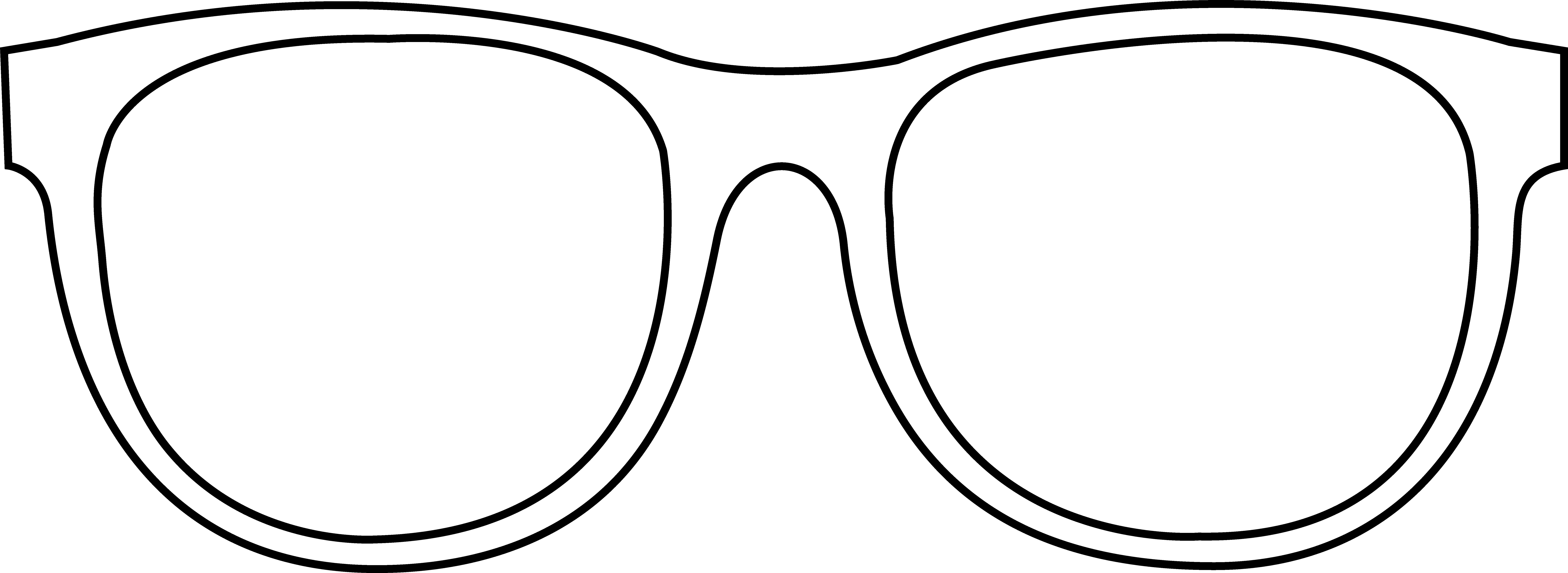 Clipart sunglasses printable. Coloring pages of glasses