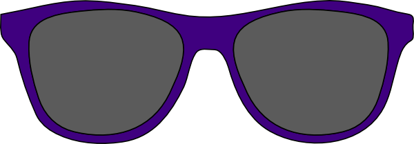 Clipart sunglasses purple. Clip art at clker