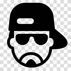 Computer icons hip hop. Clipart sunglasses rapper