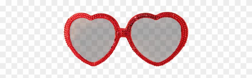 Sunglasses clipart heart shaped sunglasses.