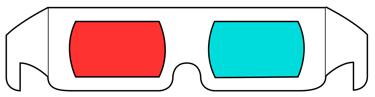 File d glasses cyan. Clipart sunglasses red white blue