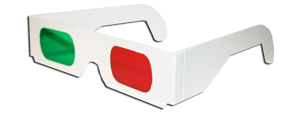 Goggles clipart red glass. Anaglyphic american paper optics