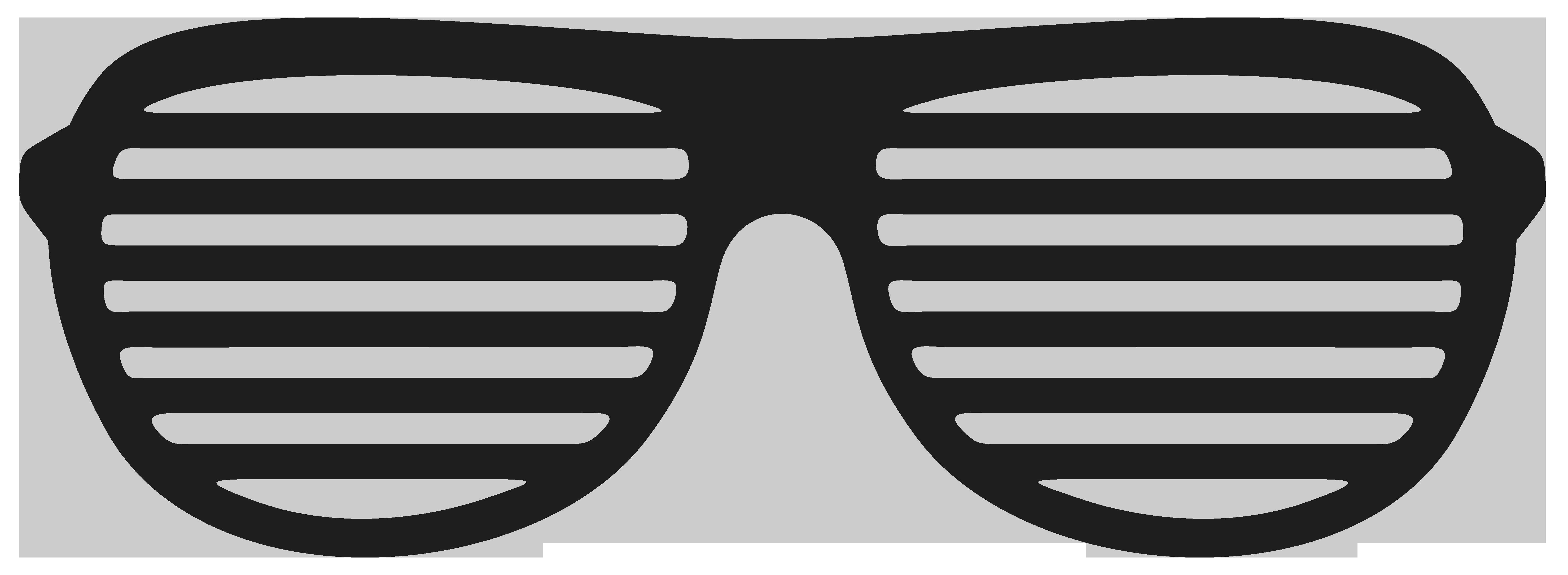 Shutter shades stock illustration. White clipart sunglasses