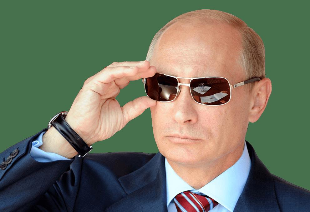 Vladimir putin with transparent. Clipart sunglasses side view
