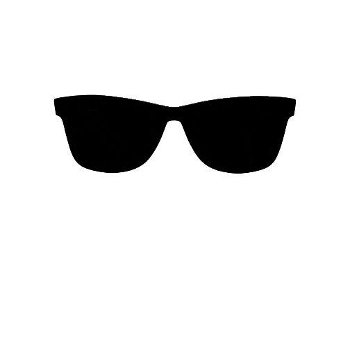 Cricut crafts . Clipart sunglasses silhouette