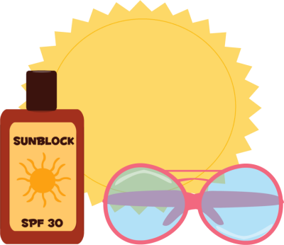 Free download best on. Sunglasses clipart sunscreen