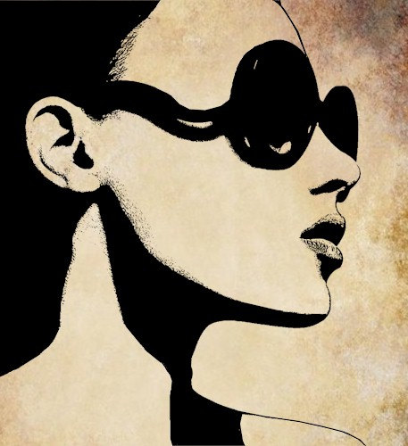 With clip art library. Clipart sunglasses woman clipart