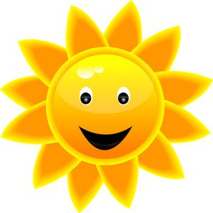 Happy clipart. Sunshine image panda free