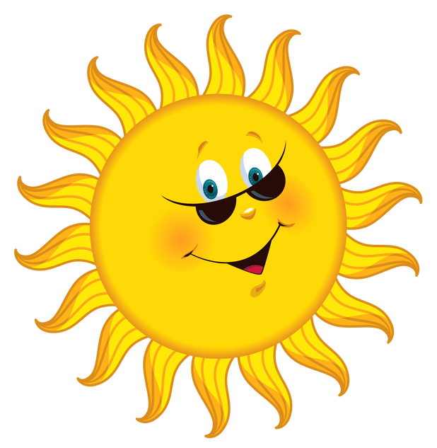 Clipart sunshine copyright free. Cartoon pictures of cartoonview