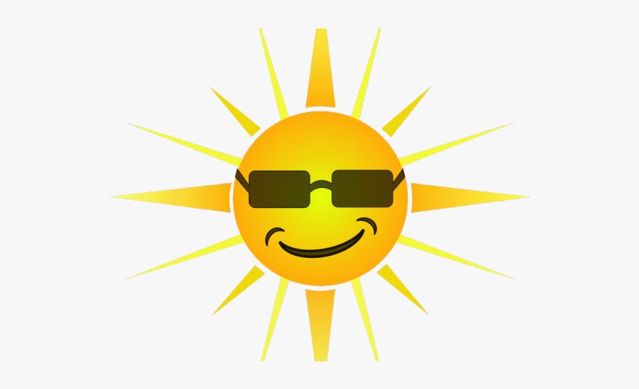 Clipart sunshine file. Cool sun free