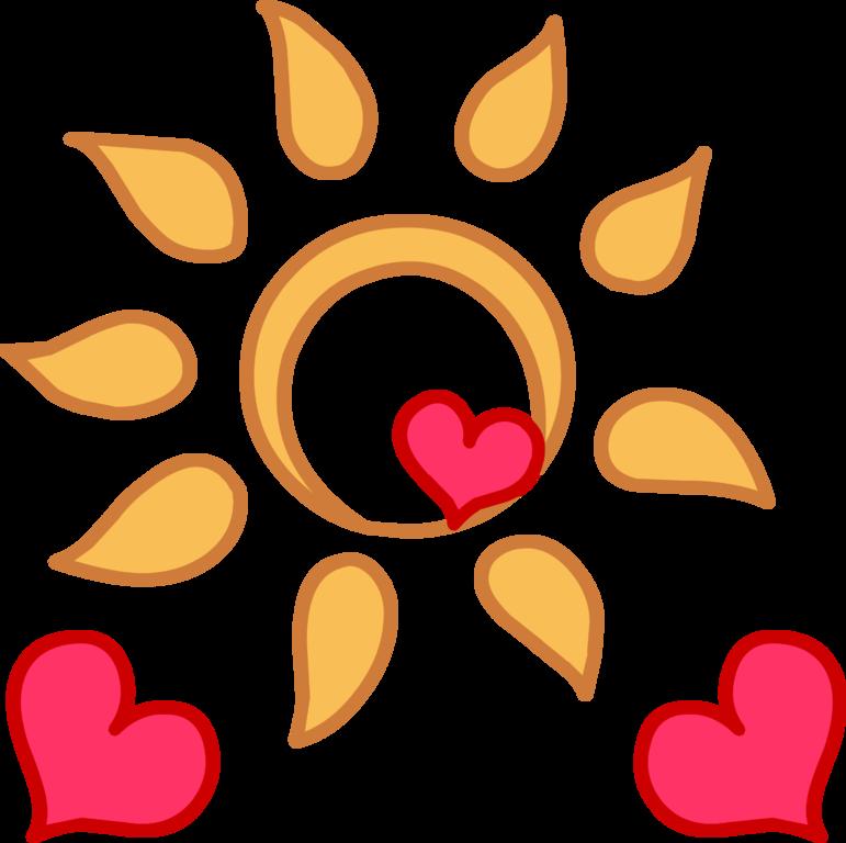 Clipart sunshine heart sunshine. Image happystudio png my
