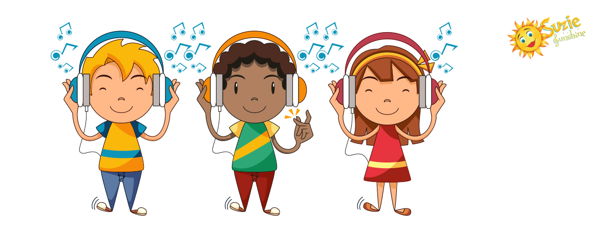 Singer clipart toddler. Suzie sunshine music education