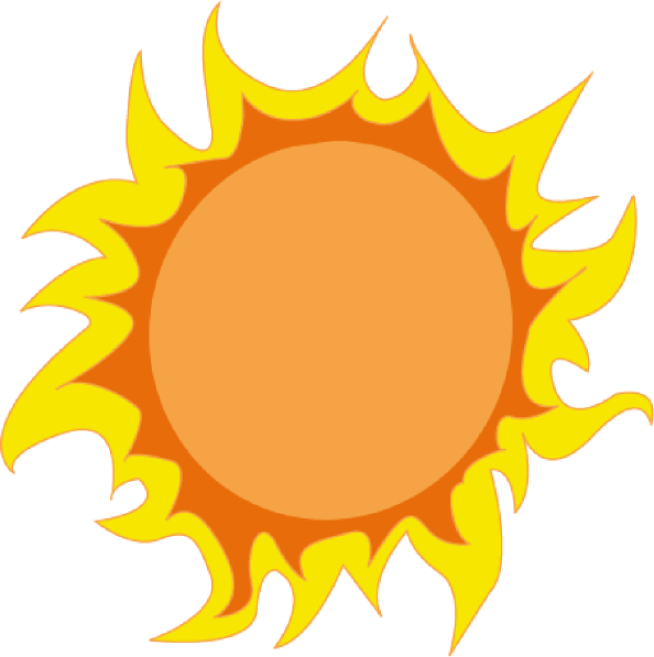 Clipart sunshine large. Sun clip art at