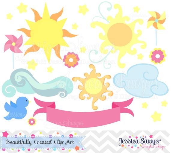 Instant download you are. Clipart sunshine party