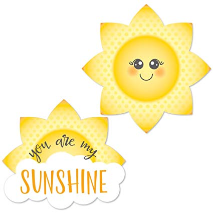 Big dot of happiness. Clipart sunshine party