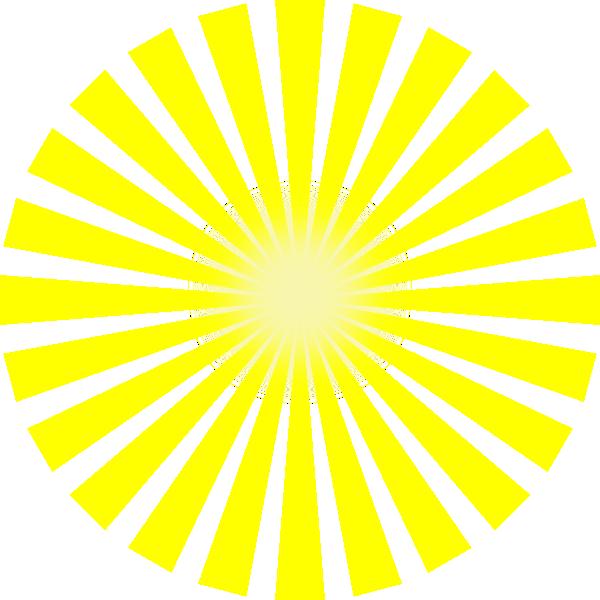 Sun rays star burst. Dot clipart bursts