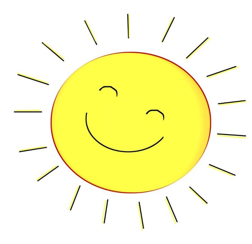Adorable images clip art. Clipart sunshine school