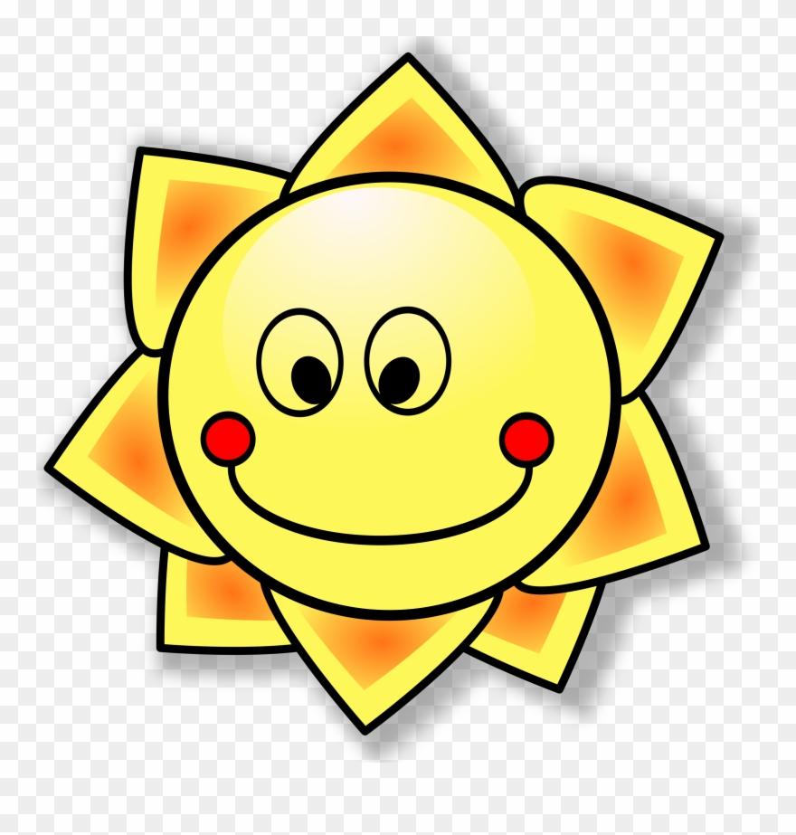 Clipart sunshine school. Sole png download