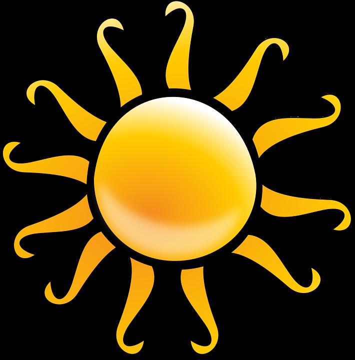 Sunlight beach free on. Clipart sunshine sun shine