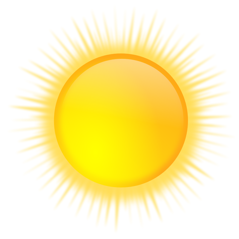 Clipart sunshine sun shine. Free sunny weather picture