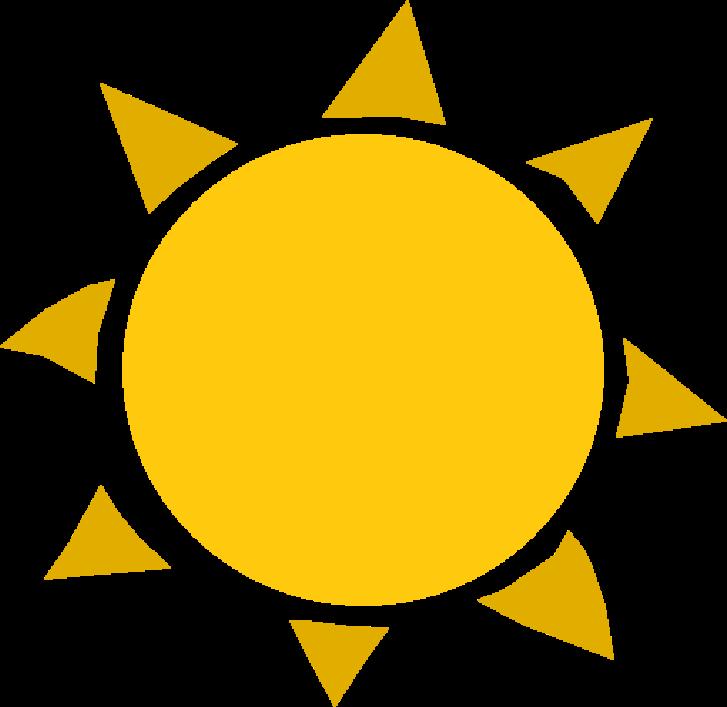 Sunlight pdf frames illustrations. Clipart sunshine sunl
