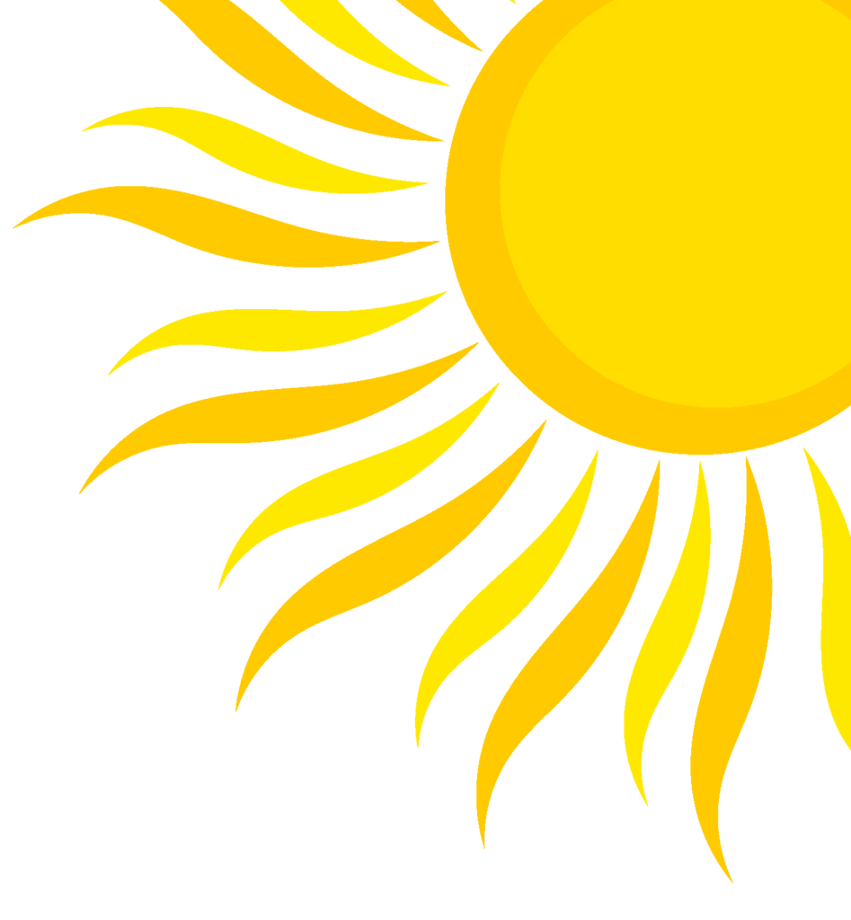 Clipart sunshine sunl. Sunlight summer frames illustrations