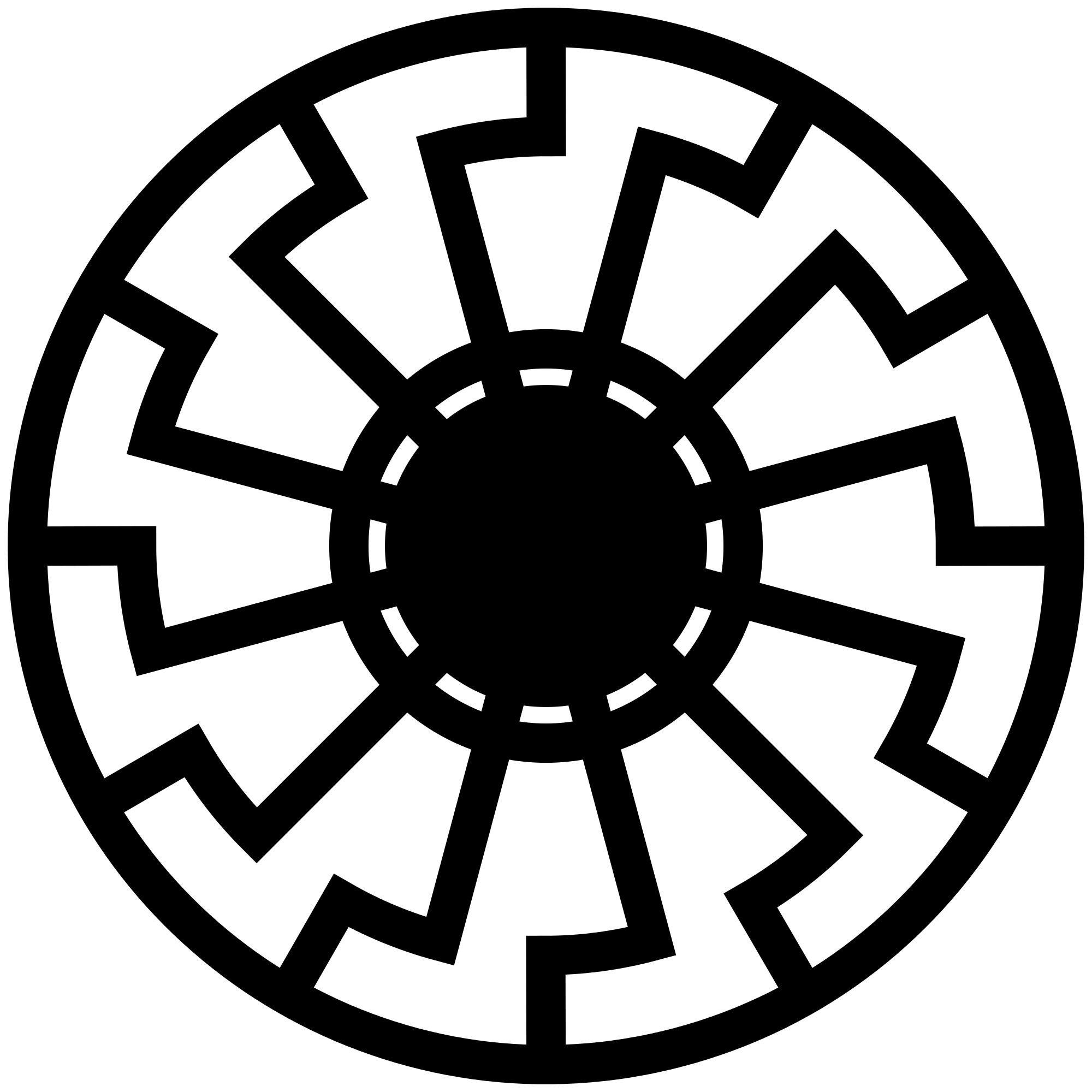 Black sun occult symbol. Clipart sunshine sunn