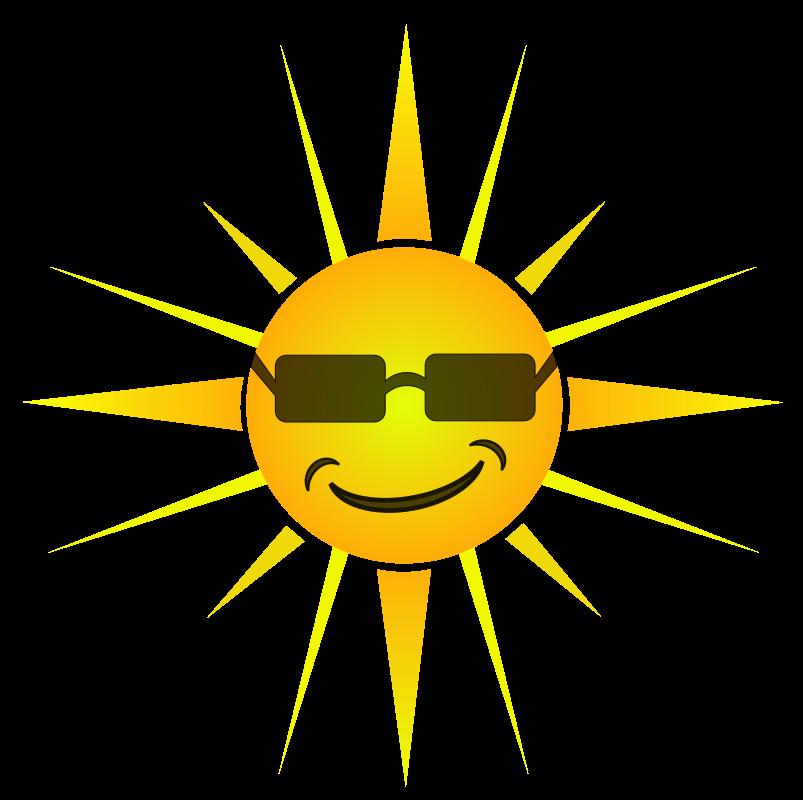Cool happy sun medium. Clipart sunshine sunny
