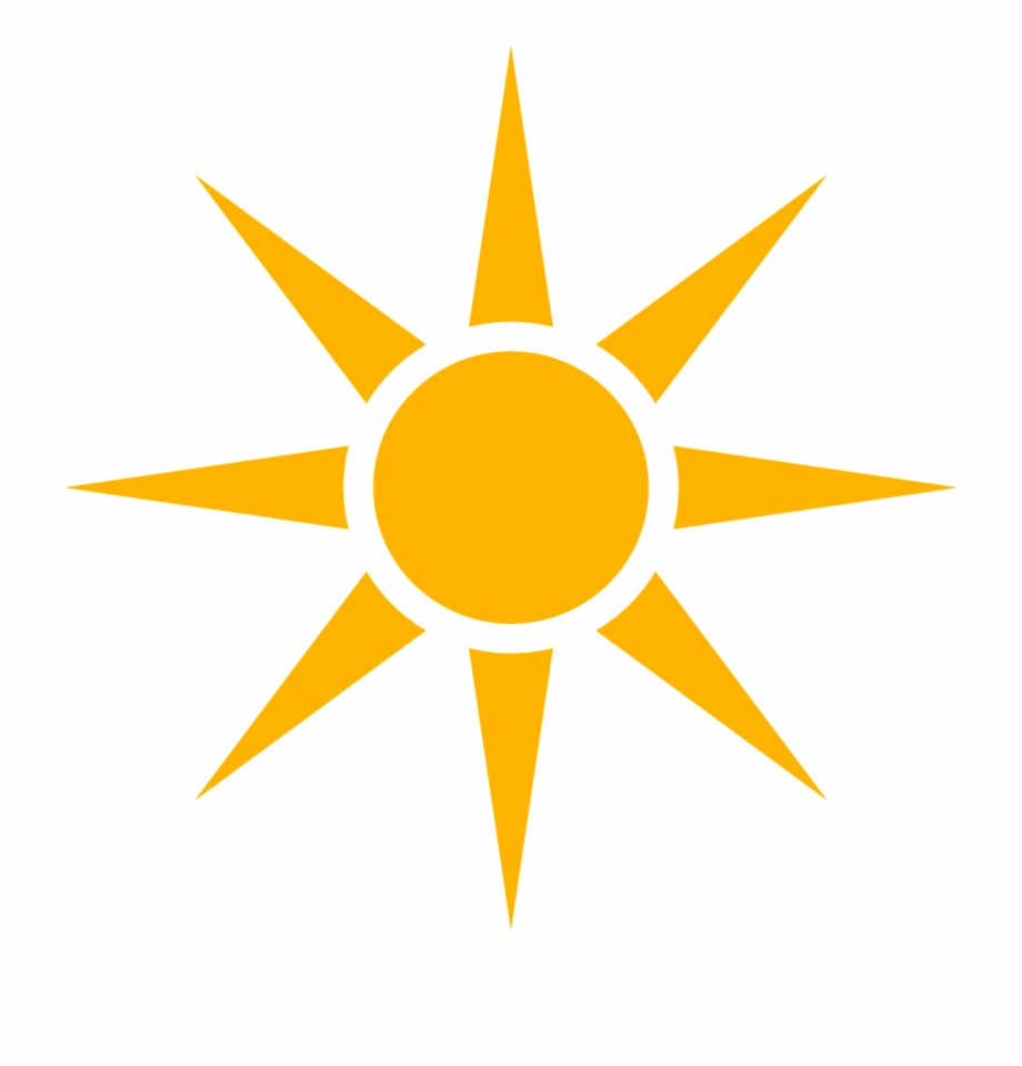 Agriculture icon sun free. Clipart sunshine symbol