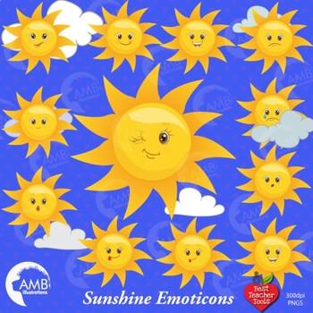 Sun faces emoticons emoji. Clipart sunshine teacher