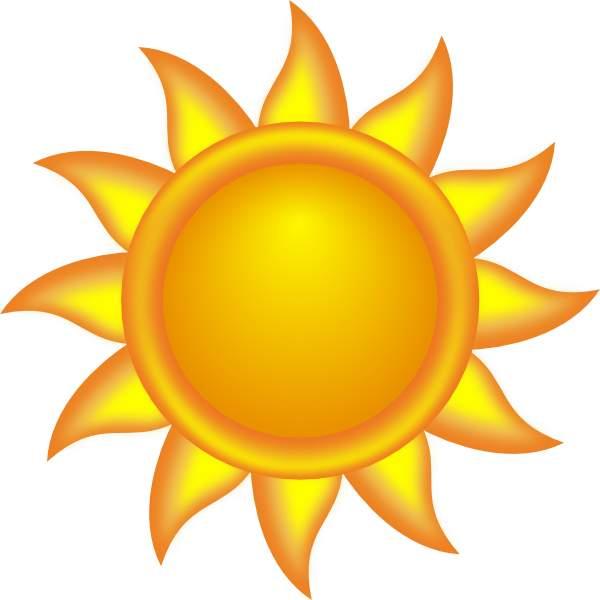 Sun clip art free. Clipart sunshine tree clipart