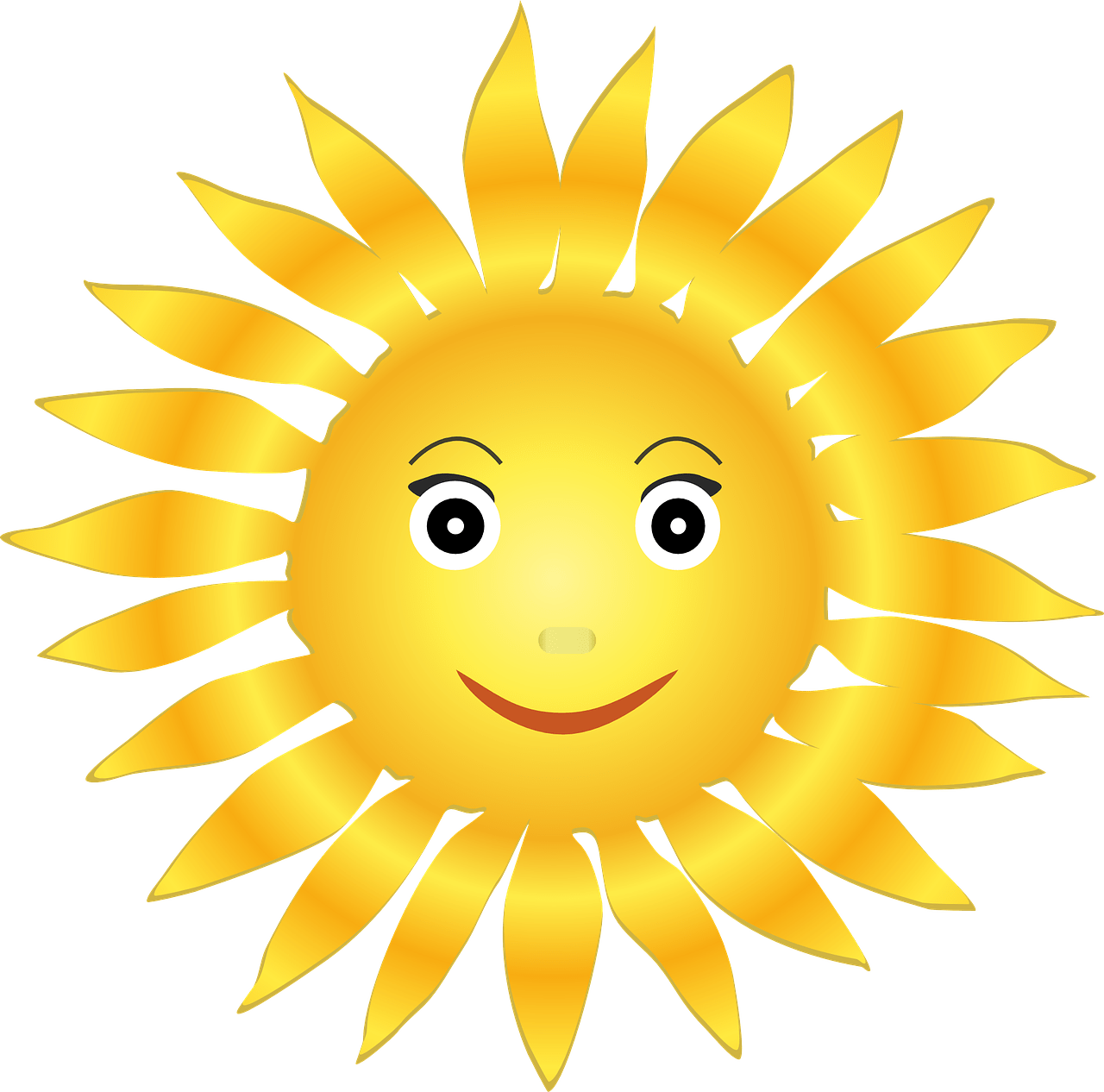 Sunny clipart sun smile.  reasons to love