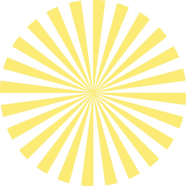 Awesome design pale clip. Clipart sunshine yellow sunburst