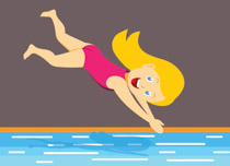 Clipart swimming diving. Sports free to download