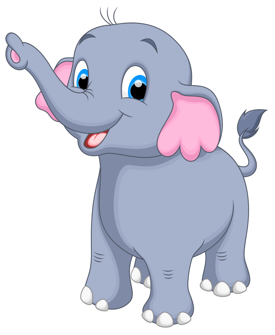 Baby blue clip art. Clipart swimming elephant