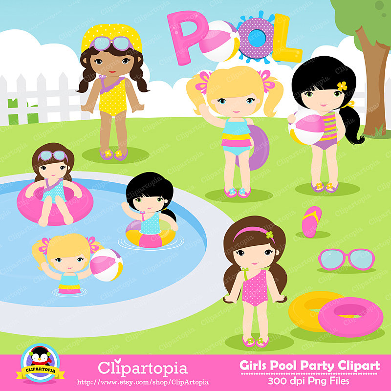 Free cliparts download clip. Clipart swimming friends